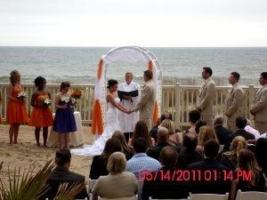 bride-groom-at-alter-golden-sands-ceremony