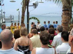 bride-groom-at-alter-seacrets